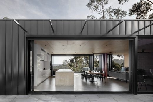 Skyline House in Lorne, Victoria