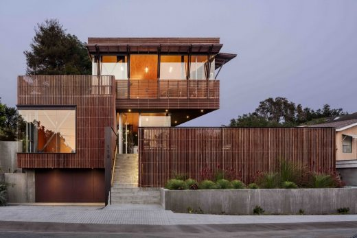 Skyline Residence in Santa Barbara