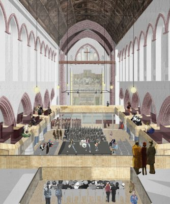 St Martin's Church Brighton design by Emil Eve Architects