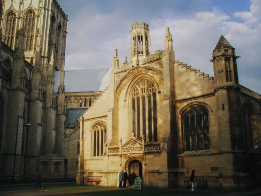 St Michael le Belfrey Church building in York England