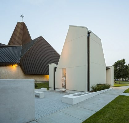 St. Pius Chapel and Prayer Garden in New Orleans