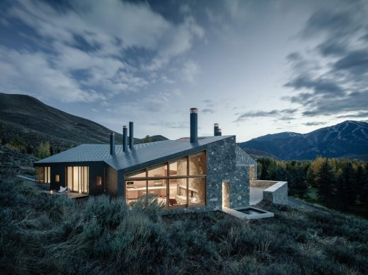 Sun Valley House, Sun Valley, Idaho, USA