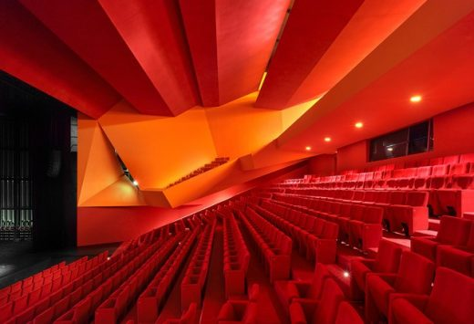 'Théodore Gouvy' Theatre in Freyming-Merlebach France