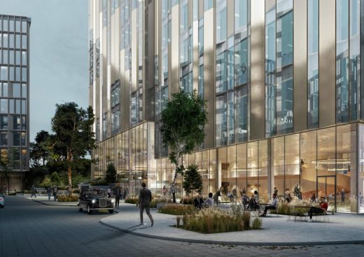 The Waterside Belfast building design