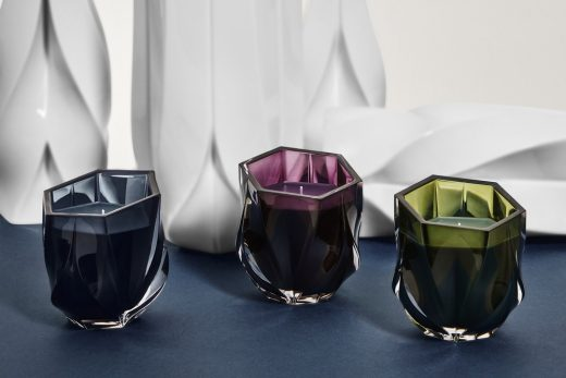 Zaha Hadid Design at Maison&Objet 2019 ZHD Shimmer Candles