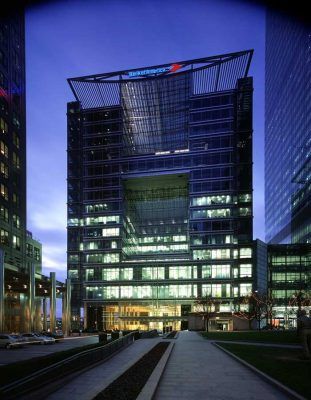 5 Canada Square Building Isle of Dogs London