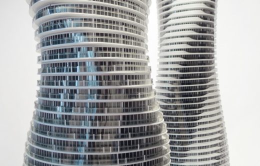 Absolute Towers model by MAD Architects