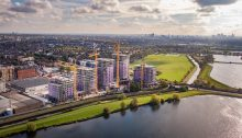 Legal & General's Blackhorse Mills Build to Rent project in Walthamstow by Assael Architecture
