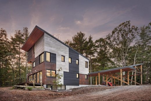 Blackwood House in Falmouth - Modern Architecture in Maine Exhibition