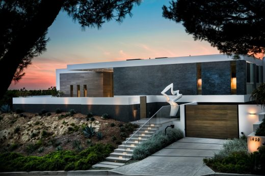 Carla Ridge House in Beverly Hills
