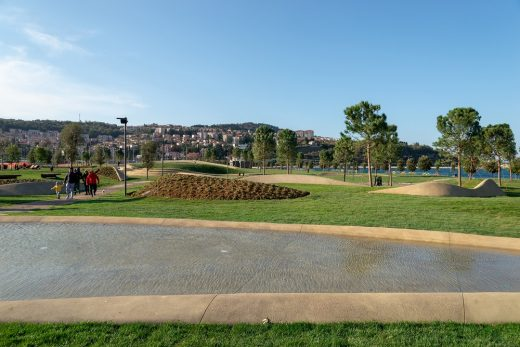 Central Park in Koper Slovenia