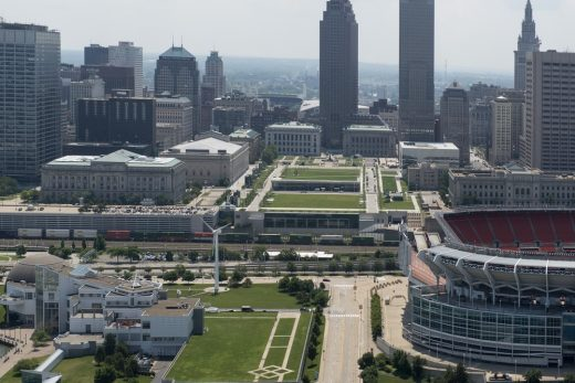Cleveland Convention Center & Civic Core