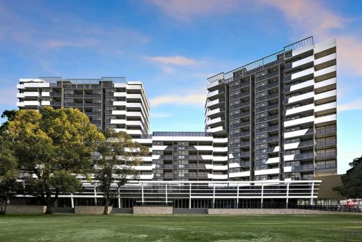 The Curtain Apartments Wolli Creek building