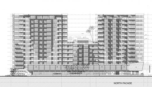 The Curtain Apartments Wolli Creek elevations