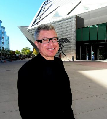 Daniel Libeskind architect of The Crystals Retail Center in Las Vegas
