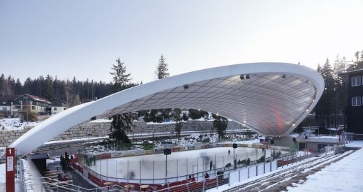 Feuerstein Arena in Schierke designed by German Architect office