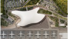 Gelendzhik Airport Building Russia by Studio Fuksas Architects