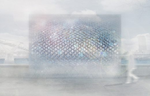 London River View Design Competition by artists Wolfgang Buttress