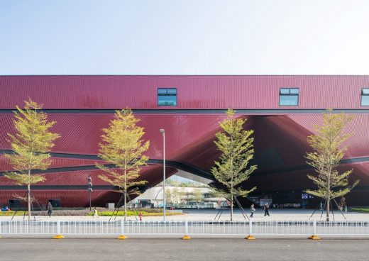 Longgang Cultural Centre in Shenzhen