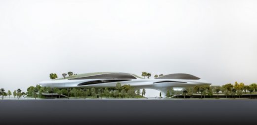 Lucas Museum of Narrative Art (Los Angeles) model by MAD Architects