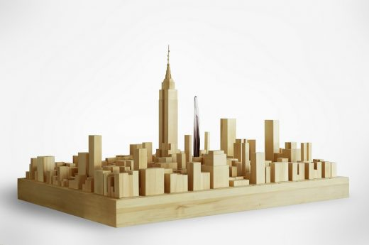 East 34th model by MAD Architects