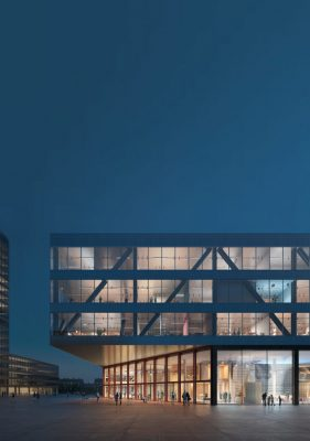 New VRT Headquarters Building In Brussels