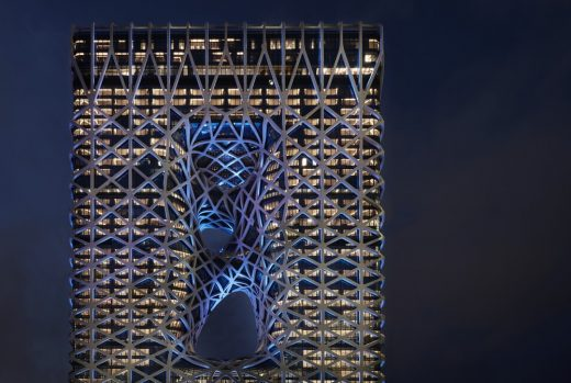 Surface Design Awards 2019 Winner - Morpheus Hotel China building
