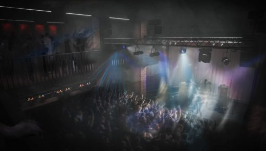 Rock Club in Wales - Clwb Ifor Bach in Cardiff interior