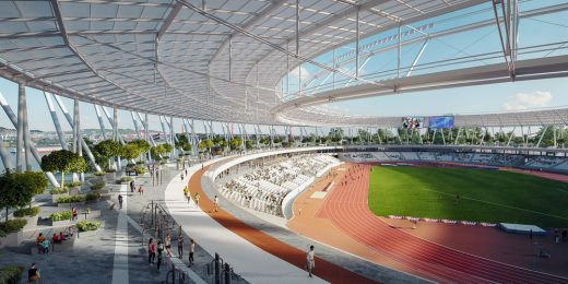 National Athletics Center in Budapest
