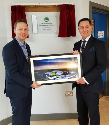 Omagh IPS, County Tyrone Building official opening
