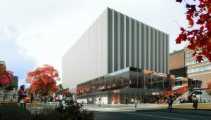 Performing Arts Center for Brown University Rhode Island