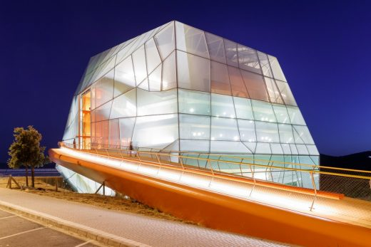 Plasencia Auditorium and Congress Centre building in Spain