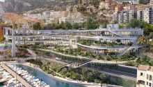 Projet pour le site de Fontvieille Monaco design by Massimiliano and Doriana Fuksas