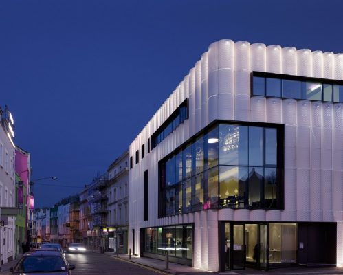 Quarterhouse Folkestone building in England by Alison Brooks Architects