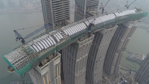 Raffles City Chongqing buildings for CapitaLand