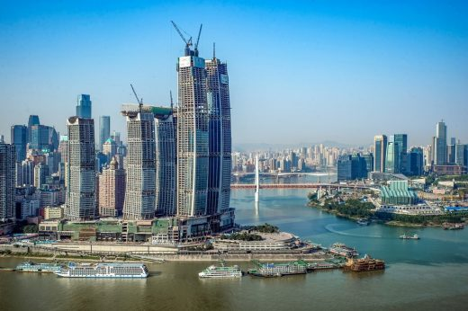 Raffles City Chongqing development for CapitaLand