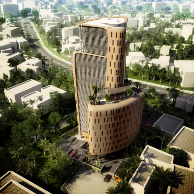 Ramzi Towers, Victoria Island, African Architecture