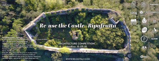 Reuse of Ripafratta Castle Architecture Competition, Tuscany, Italy