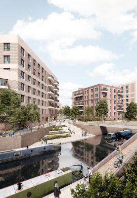 Soho Wharf Birmingham Masterplan design by Claridge Architects