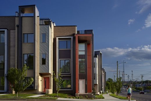 The Row at 12th Housing in Nashville