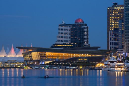 Vancouver Convention Center West by LMN Architects Seattle
