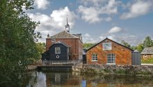 Whitchurch Silk Mill in Hampshire