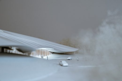 Yabuli CEF Conference Center building model by MAD Architects