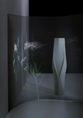 Zaha Hadid Design Porcelain Collections for Rosenthal Weave vases