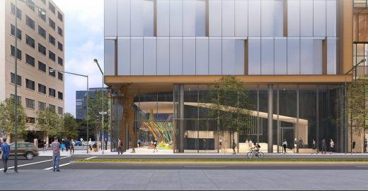 2201 Valley in Oakland Office Tower building design