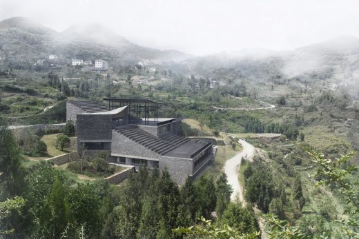 Dafa Canal Tourist Information Center in Guizhou China