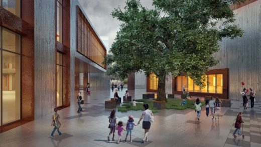 Diyarbakir Public and Children's Library building design