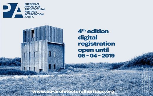 European Award for Architectural Heritage Intervention - Architecture Awards
