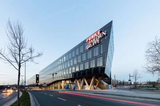 Funke Media Group HQ in Essen Germany