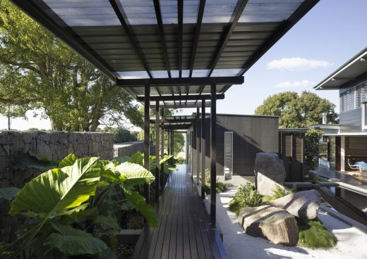Glass House Mountains Queensland property design by Bark Design Architects